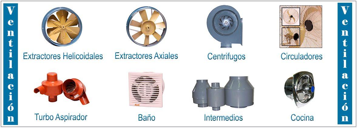 Catalogo de ventilacion