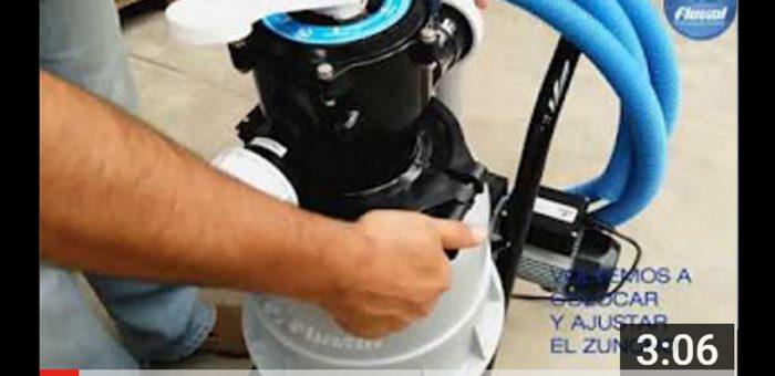 Fluvial Puesta en funcionamiento de filtro portátil EFT