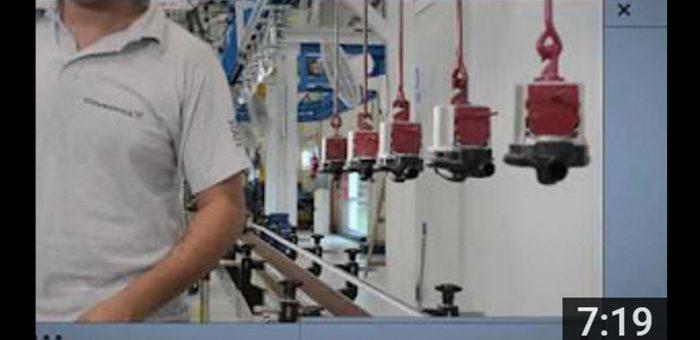 Grundfos recorrido de producción bombas UPA